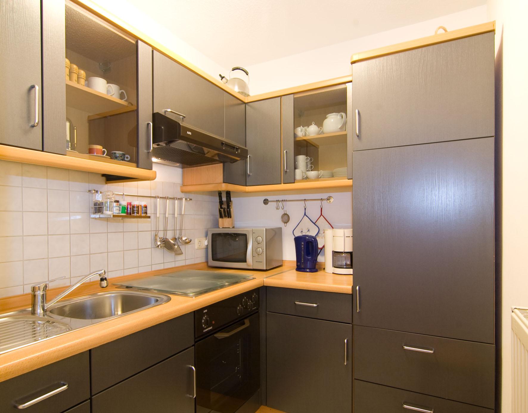 Küche Ferienwohnung Bodenmais