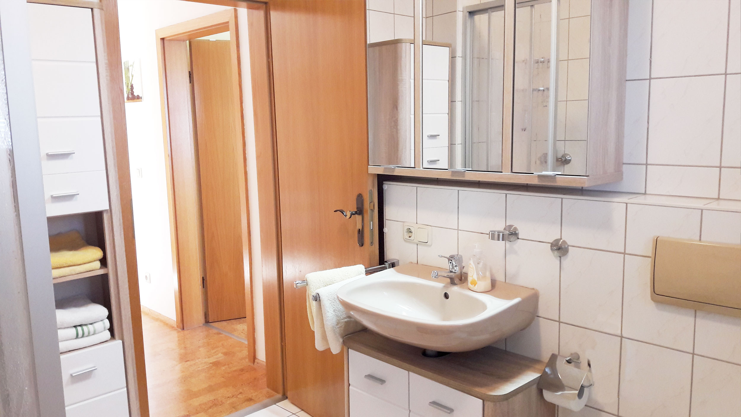 Ferienwohnung Bodenmais Badezimmer