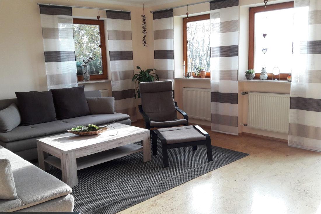 Ferienwohnung Bodenmais mit großem Wohnzimmer